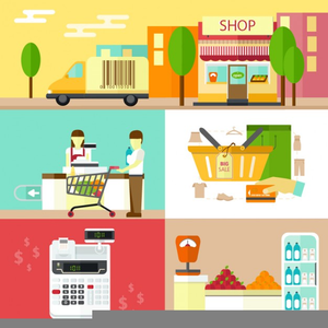 Department Store Clipart Image