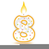 Clipart Birthday Candle Image