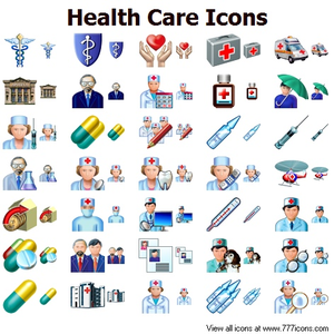 Health Care Icons Image