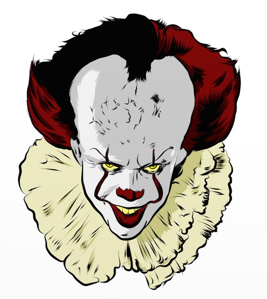 Free Clipart Pennywise The Clown Free Images At Clker