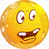 Smiley Face With Teeth Clipart Image