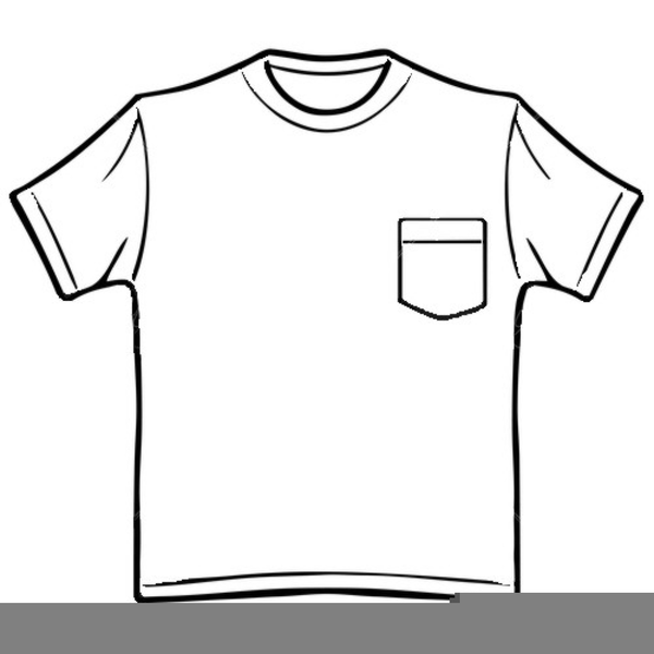 clipart t shirt black white free images at clkercom