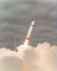Air Force File Photo Of The First Launch Of A Trident Missile Image