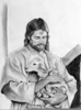 Lds Jesus Clipart Black And White Image