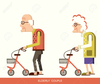 Free Animated Old Lady Clipart Image