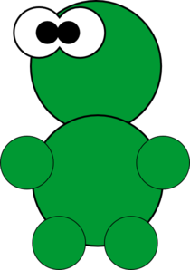 Little Green Thing Clip Art At Clker Com Vector Clip Art