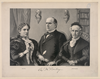 William Mckinley With Mother And Wife Image