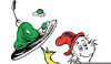 Dr Seuss Green Eggs And Ham Clipart Image
