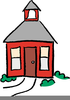 Free School House Clipart Image