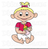 Clipart Of New Baby Image