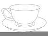 Teacup And Saucer Clipart Free Image