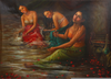 Ganges Bathing Photos Image
