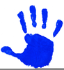 Kids Handprints Clipart Image