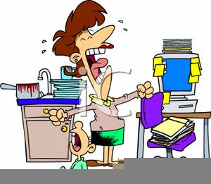 Outstanding Overworked Housewife Clipart Free Images At Clker Com Interior Design Ideas Clesiryabchikinfo
