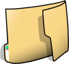 Fancy Folder 1 Clip Art