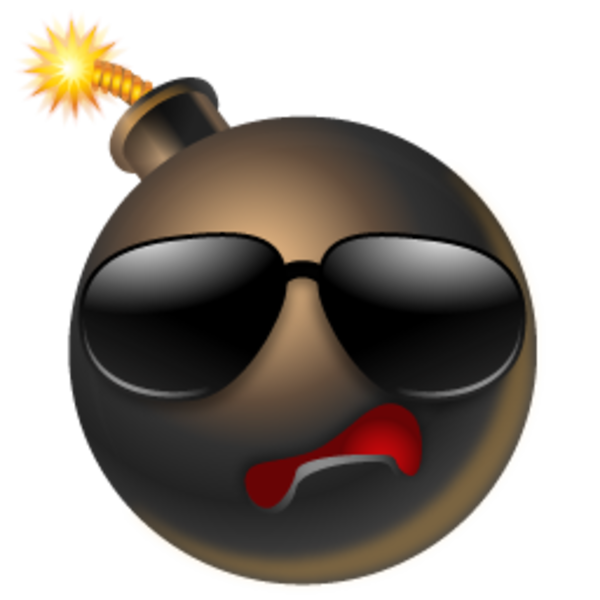 Bomb Cool Icon Free Images At Clker Com Vector Clip