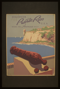 Discover Puerto Rico U.s.a. Where The Americas Meet / Frank S. Nicholson. Image