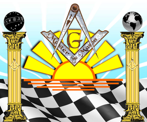 Sunrise On The Master Mason Image