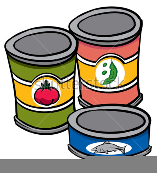 Clipart Of Cans Of Food Free Images At Clkercom Vector Clip Art
