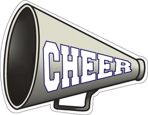 cheermegaphone free images at clker com vector clip cheerleading vector cheerleader vector clipart