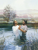 Clipart Baptism Of The Lord Image