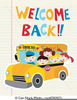Welcome Back Clipart School Image