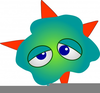 Animated Germ Clipart Image
