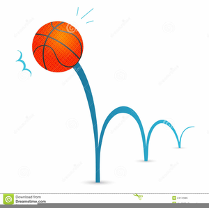 Basketball animated. Bouncing clipart free images