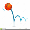 Animated Bouncing Basketball Clipart Image