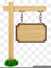 Free Wood Sign Clipart Image