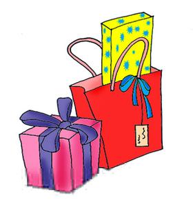 Free Birthday Presents Clipart Image