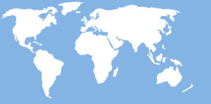 World Map For Wall Image
