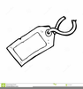 Luggage Tag Clipart Image