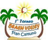 Torneo Beach Volley Clip Art