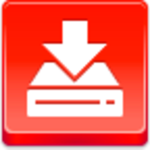 Free Red Button Icons Drive Download Image