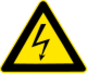 Px High Voltage Warning Svg Image