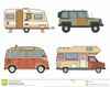 Trailer Camping Clipart Image