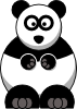 Studiofibonacci Cartoon Panda Clip Art