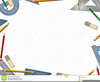 Math Geometry Background Border Clipart Image