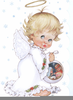Baby Angel Clipart Image