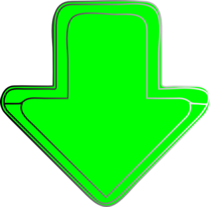 Green-arrow-down Clip Art