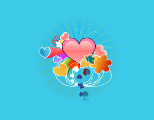Hearts Up Pd By Adam Lowe Openclipart Image