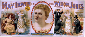 May Irwin In The Widow Jones Supported By John C. Rice. Image