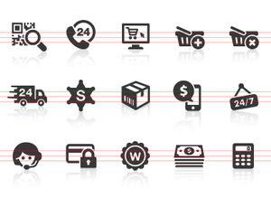 0093 E Commerce Icons Image