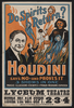 Do Spirits Return? Houdini Says No - And Proves It 3 Shows In One : Magic, Illusions, Escapes, Fraud Mediums Exposed.  Image