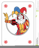 Animated Playing Cards Clipart Image