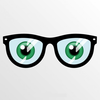 Free Clipart Glasses Eyes Image