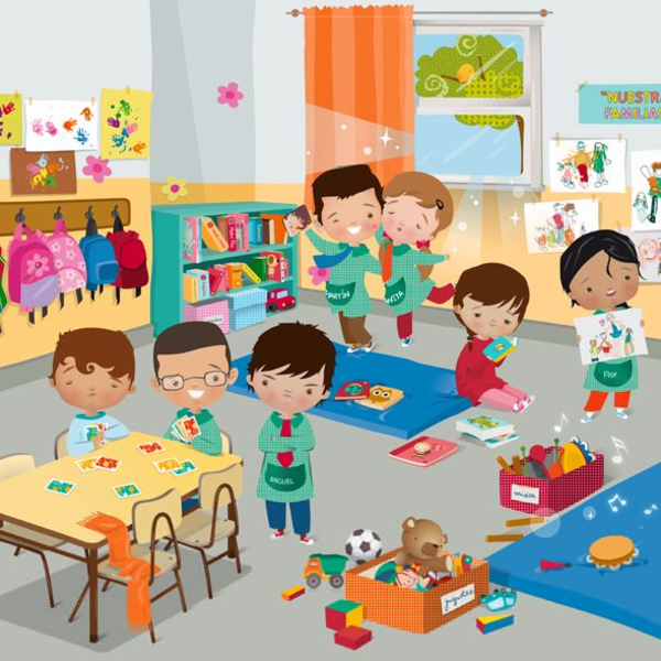 Cartoon Classroom | Free Images at Clker.com - vector clip art online, royalty free ...
