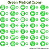Green Medical Icons Image
