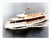 The Former Presidential Yacht Uss Sequoia (ag 23) Travels Down The Potomac River Near Washington D.c. Image